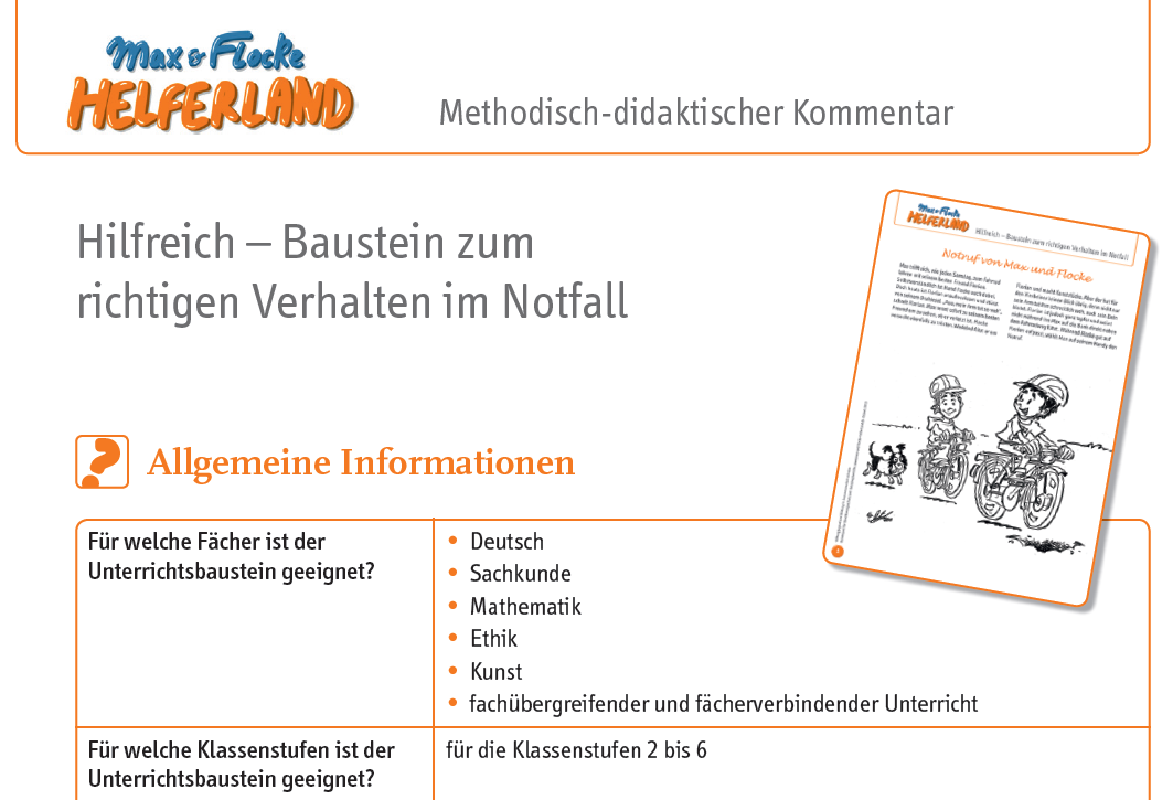Max & Flocke - Arbeitsblätter